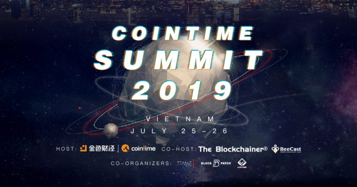Cointime Summit 2019 • Vietnam Station will be held on 25th - 26th July in Equatorial HOTEL, Hồ Chí Minh City. The summit is held by Cointime and co-hosted by The Blockchainer. The summit will bring the most comprehensive blockchain frontier topics and most valuable news coverage. The conference has a two-fold purpose: to raise awareness of the local blockchain market in Vietnam and to help enable blockchain enterprise get on their feet networking and pitching their products. Blockchain enterprise will have an opportunity to learn how to grow, nurture, and pitch their products in Vietnam.