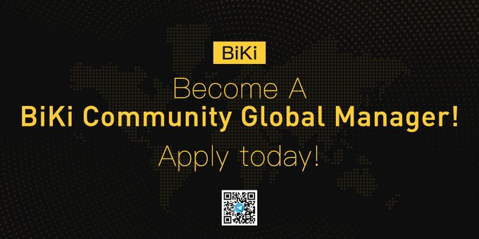 BiKi launches BiKi Community Global Manager Programme.