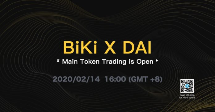 BiKi Lists MakerDAO ($DAI)