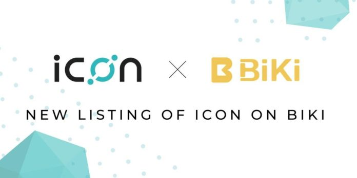 BiKi.com Lists Leading Korean Project ICON (ICX), One of the World's Most Utilized Blockchain Platforms