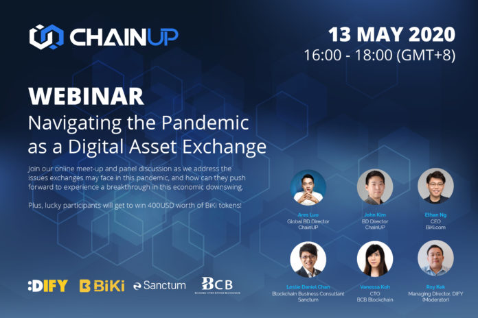 BiKi Exchange ChainUP Webinar