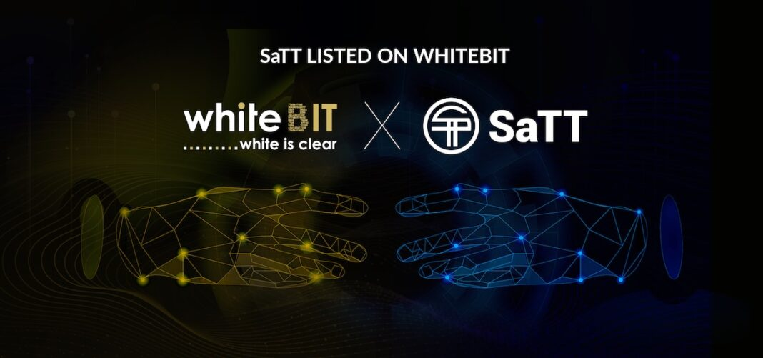 WhiteBIT Lists Smart Advertising Token SATT