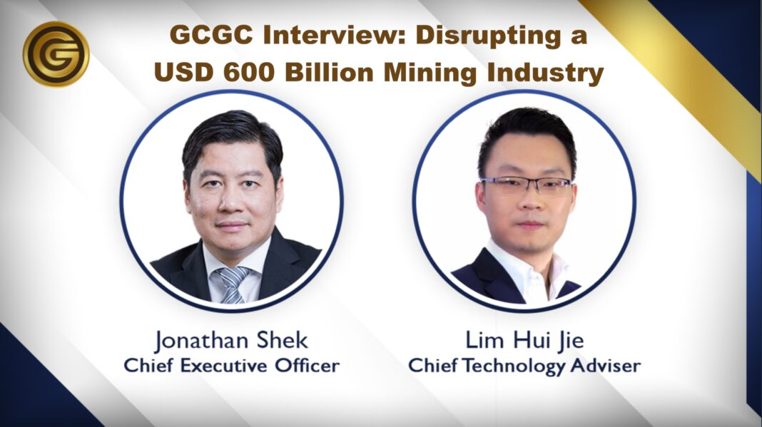 Interview with GCGC CEO and CTA, Jonathan Shek and Lim Hui Jie